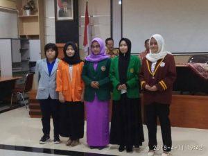 Mahasiswa berprestasi FKIP Universitas Muhammadiyah Palembang